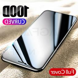 100D Full Curved Tempered Glass Screen Protector For iPhone