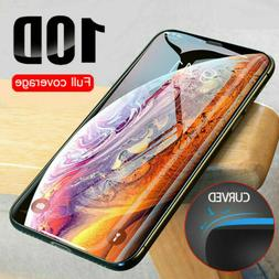 10D Full Coverage Tempered Glass Screen Protector For iPhone