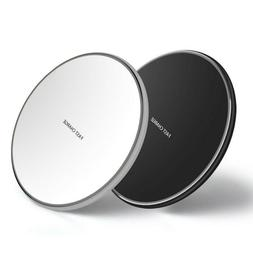 10W Qi Wireless Charger Charging Pad for iPhone 11 Pro Max X