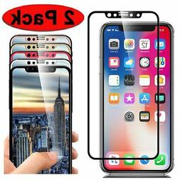 Full Coverage 3D Tempered Glass Screen Protector for iPhone