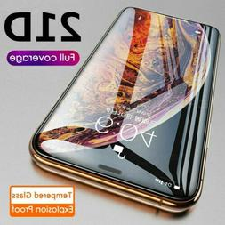 21D Full Coverage Tempered Glass Screen Protector For iPhone