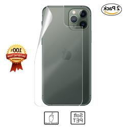 2x 3D CLEAR PET Soft Back Film Screen Protector for Apple iP