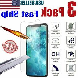 3-Pack iPhone 6 / 7 / 8 Plus Tempered GLASS Screen Protector