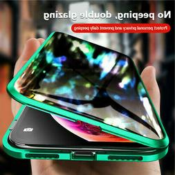 360 Magnetic Adsorption Case Double Sided Tempered Glass Ant