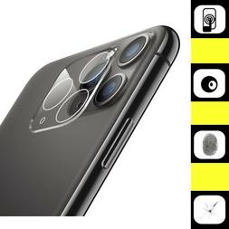 3D iPhone 11 /11 Pro Max FULL Cover Tempered Glass Camera Le