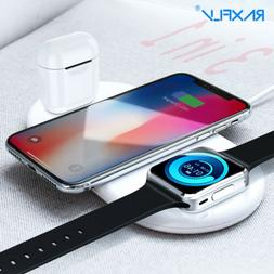 3in1 Wireless Charger Charging Station for Apple iWatch iPod