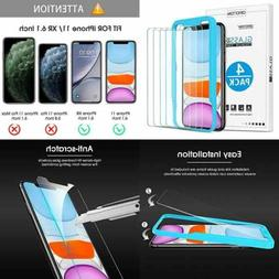 4 Pack Screen Protector For Iphone 11/Iphone XR 6.1Inch Temp