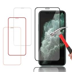 For iPhone 11 Pro Max 11 X XS Max XR Full Cover Tempered Gla
