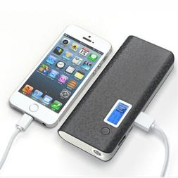 Portable 50000mAh 2 USB LED LCD Power Bank Backup Battery Ch
