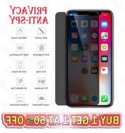 Anti Spy Privacy Tempered Glass Screen Protector For iPhone