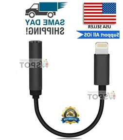 For Apple AUX Adapter Jack Lightning to 3.5mm Cord Dongle iP