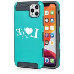 For Apple iPhone 11 Dual Layer Shockproof Hard Case Love Hai