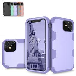 For Apple iPhone 11 Hybrid Shockproof Rugged Full Body Prote