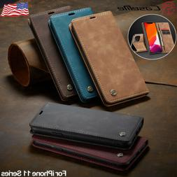 CaseMe For Apple iPhone 11 Pro Max Magnetic Leather Flip Wal