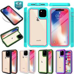 For Apple iPhone 11 Pro Max Rugged Cover Shockproof Clear Ba