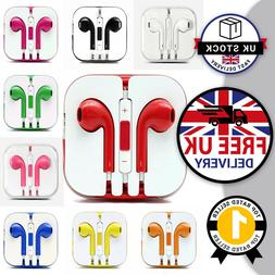 For Apple iPhone 6 7 8 X XR 11 Colours Earbuds Earphone Head