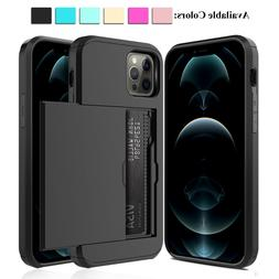 For iPhone 12 11 Pro Max/XS /XR/X Shockproof Case With Walle