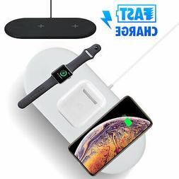 For Apple Watch iPhone Cell Phone 3in1 QI Wireless Charger C