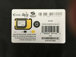 Sprint/Boost/Virgin Mobile SIMOLW516TQ 3in1 SIM Card iPhone