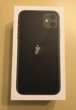 Brand New Apple iPhone 11 - 64GB - Black  A2111