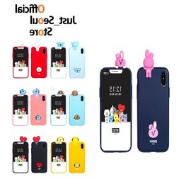 BTS BT21 Figure Jelly Phone Case Cover Official MD+Freebie+F