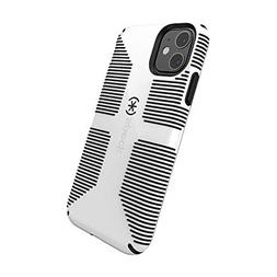 Speck CandyShell Grip iPhone 11 Case, White/Black