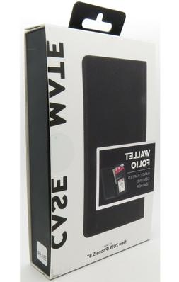 Case-Mate Wallet Folio Black Leather Case for iPhone 11 Pro