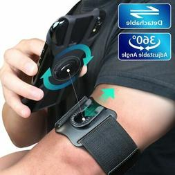 Detachable & 360 Sports Armband Running Phone Holder for iPh
