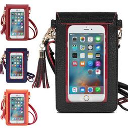 MoKo Cell Phone Bag PU Leather Crossbody Bag For iPhone 11 P