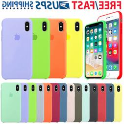 For Apple iPhone 11 PRO MAX X XR XS Max 7 8Plus softl Silico