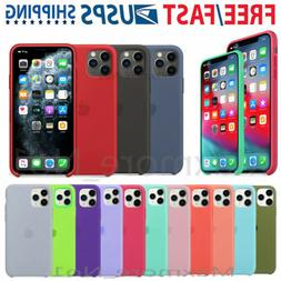 Genuine Silicone Case Cover For Apple iPhone 11 Pro Max / XR