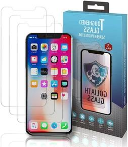 Goliath Tempered Glass Screen Protector for Apple iPhoneX/iP