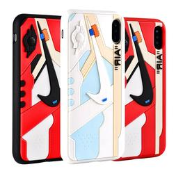 Hypebeast 3D Texture OW AJ1 Chicago iPhone Cases Cover USA S