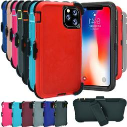 For iPhone 11 11 Pro Max Shockproof Case Hard Cover Clip Fit