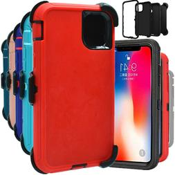 For iPhone 11 11 Pro Max Shockproof Hard Case Cover Clip Fit