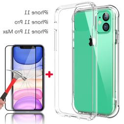 For iPhone 11/11 Pro Max Shockproof Anti-Yellow Slim Case Co