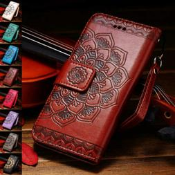 For iPhone 11 /11 pro Max Vintage Leather Book Flip Phone Wa