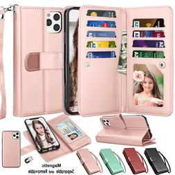 For iphone 11 11 Pro Max XS X XR SE 2 XS Max 7 8 Leather Wal