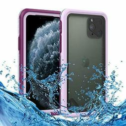 For IPhone 11/11Pro Max Waterproof Case Wireless Charging Wa