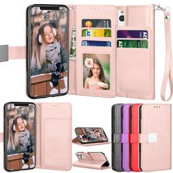 """For iPhone 11 6.1""""/ 11 Pro Max 6.5"""" Leather Wallet Case Flip"""