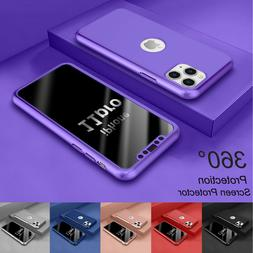 "For iPhone 11 6.1""/ 11 Pro Max 6.5"" 360° Shockproof Case Co"