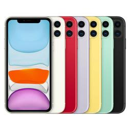 Apple iPhone 11 - 64GB 128GB 256GB - All Colors - Fully Unlo
