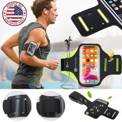 iPhone 11/8/Plus/XS Max Sport Running Armband Case Jogging A