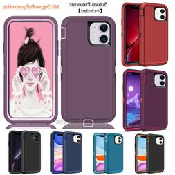 For iphone 11 Case Full Screen Protection Cover