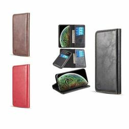 For iPhone 11 Detachable Magnetic Stand Flip Leather Wallet