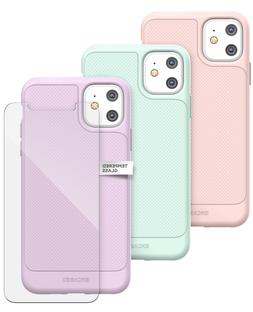 iPhone 11 Case Lavender   Pink   Green   Thin Grip With Scre