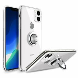 For iPhone 11 Max Pro X XR XS Case Cover Magnetic Ring Holde