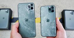 iPhone 11 Pro 11 Pro Max Cracked Broken Damage *Back Glass R