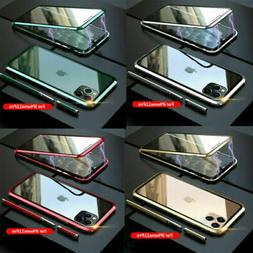 For iPhone 11 Pro Max/11 Luxury Magnetic Adsorption Double S