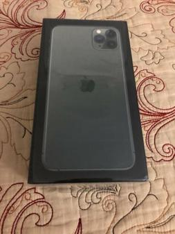 Apple Iphone 11 Pro Max 256gb Midnight Green AT&T or Cricket